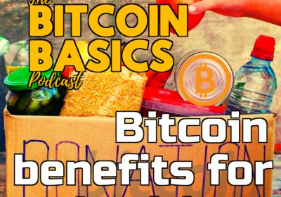 #21 Bitcoin benefits for charities | Bitcoin Basics (54)