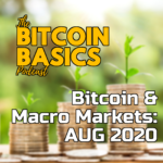 Bitcoin & Macro Markets: AUG 2020 Art