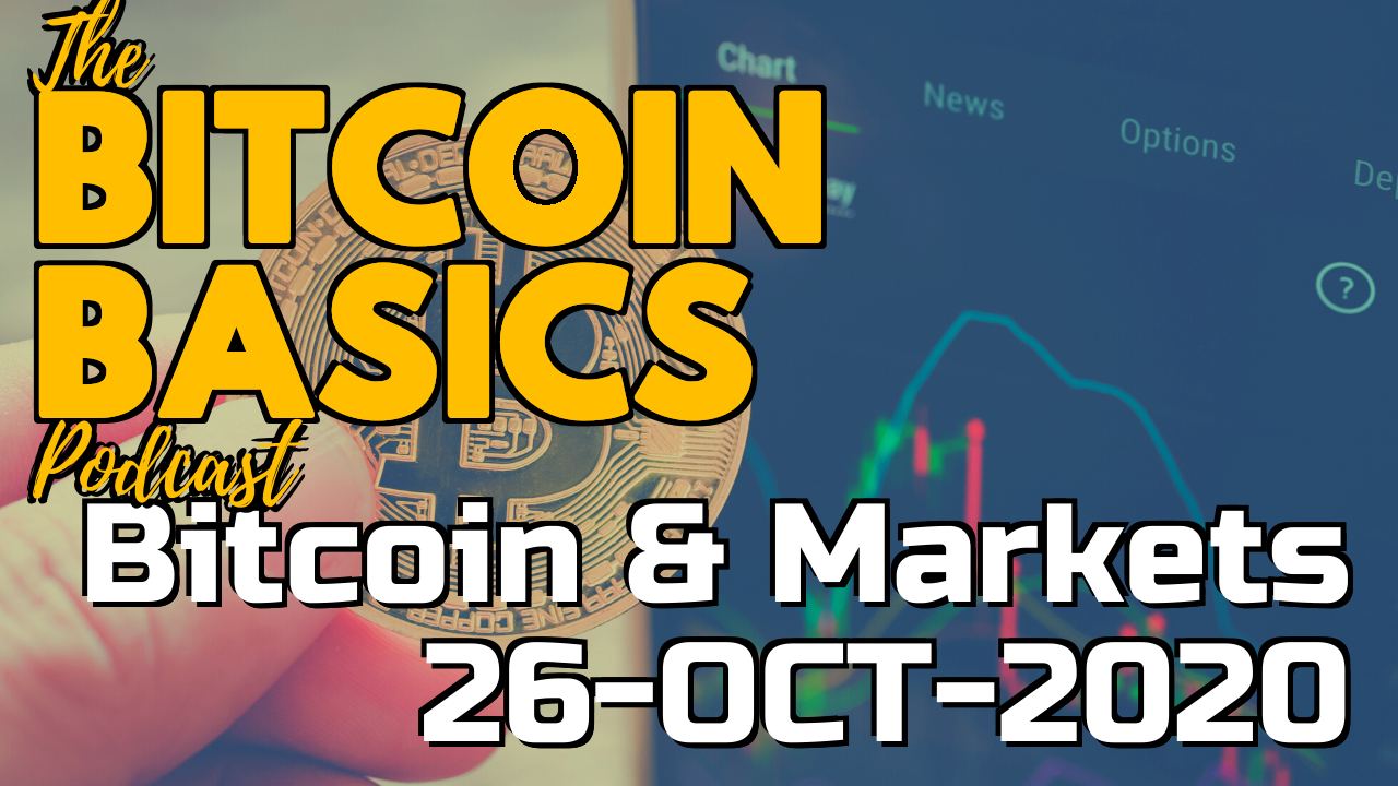 Bitcoin & Markets: 26-OCT-2020 | Bitcoin Basics (84)