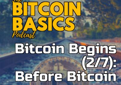 Bitcoin Begins (2/7): Before Bitcoin | Bitcoin Basics (90)