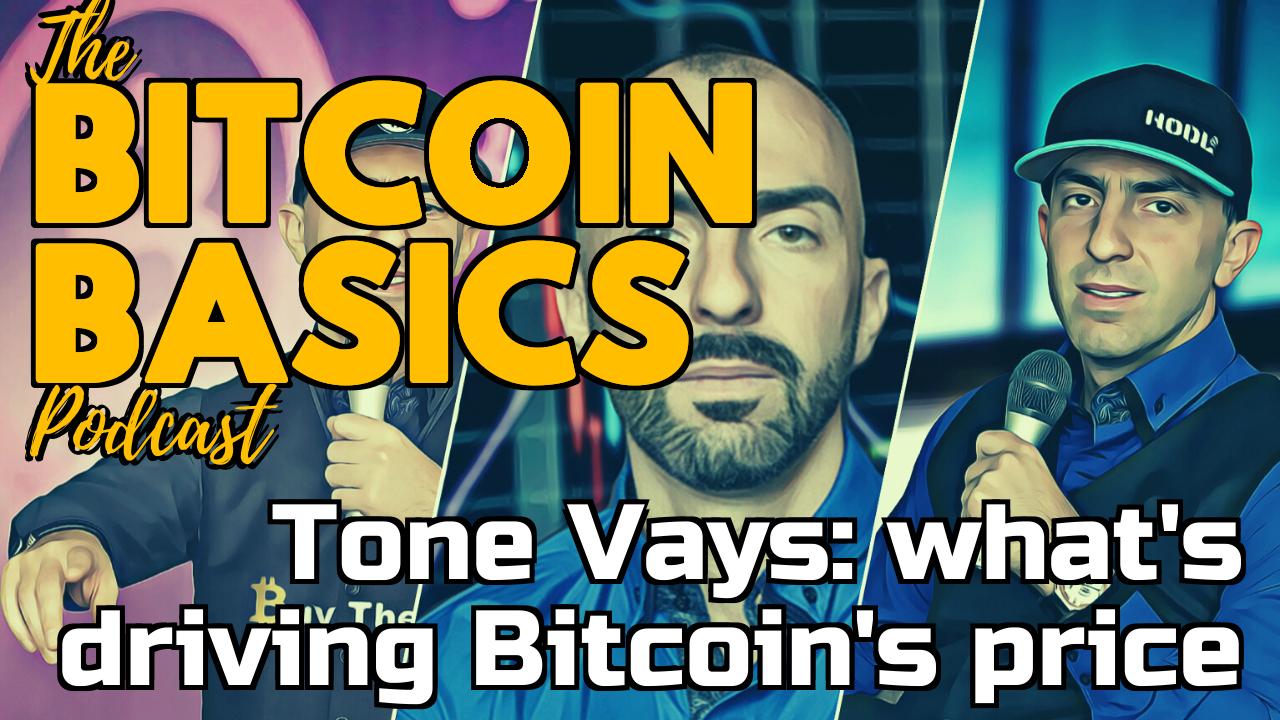 Tone Vays: what's driving Bitcoin's price | Bitcoin Basics (91)