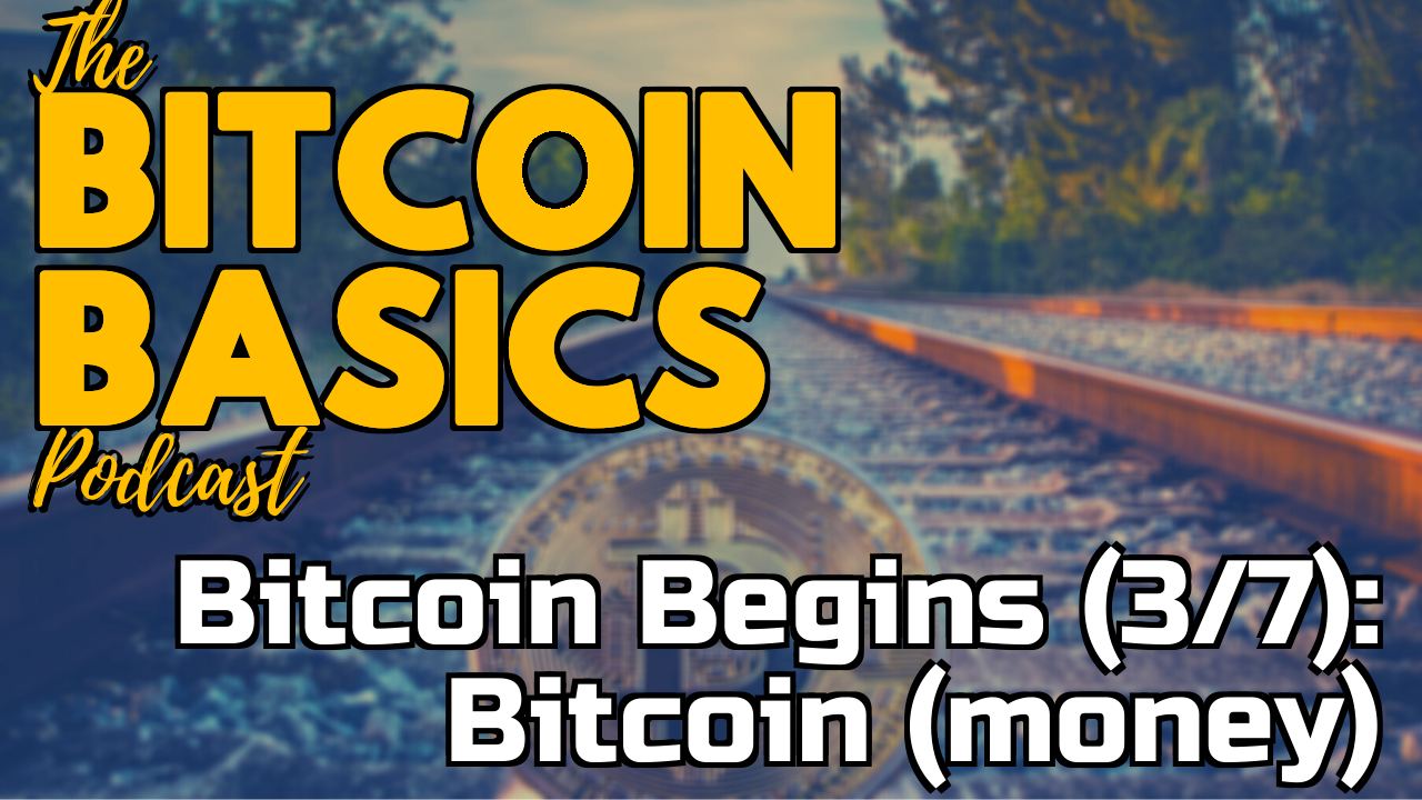 Bitcoin Begins (3/7): What is Bitcoin (money)? | Bitcoin Basics (93)