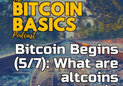 Bitcoin Begins (5/7): What are altcoins (shitcoins)? | Bitcoin Basics (95)