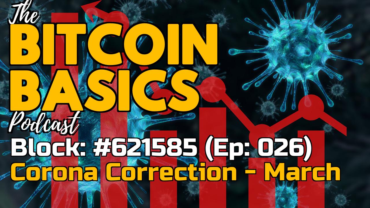 Bitcoin Basics Podcast (26): Bitcoin's Corona Correction - March