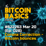 Bitcoin Basics Podcast (Ep28) - Bitcoin's Corona Correction: Bitcoin bounces! COVERART