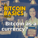 Will Bitcoin ever be adopted as a currency? COVERART