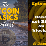 Bitcoin Basics Podcast (016): Bananas, not Bitcoin, on the blockchain