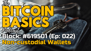 Bitcoin Basics Podcast (022): Bitcoin Wallets #3 What are non-custodial wallets? Youtube coverart