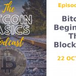 The Bitcoin Basics Podcast cover album artwork: Bitcoin Begins: Part 2 The Blockchain