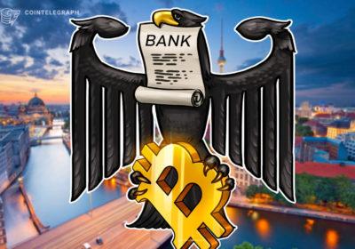 A Bitcoin interest account at a bank?