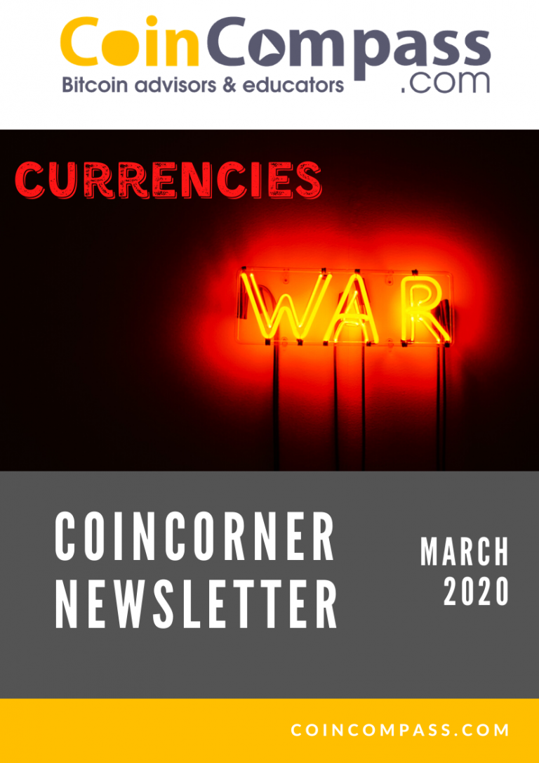 March 2020 CoinCorner newsletter cover